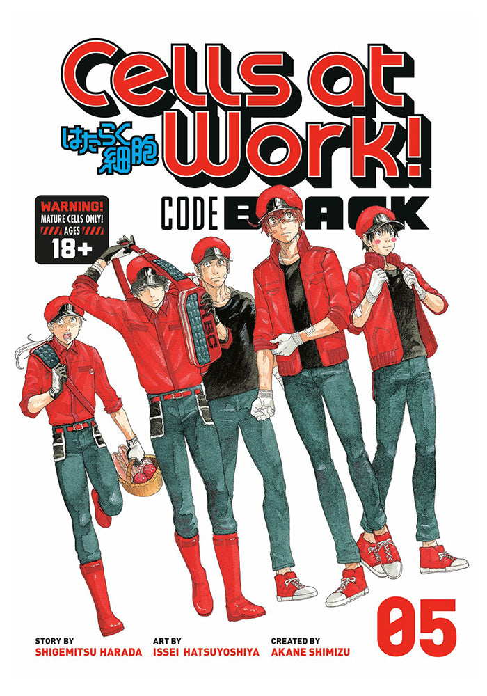 KODANSHA COMICS Cells at Work! CODE BLACK Vol. 5 Manga