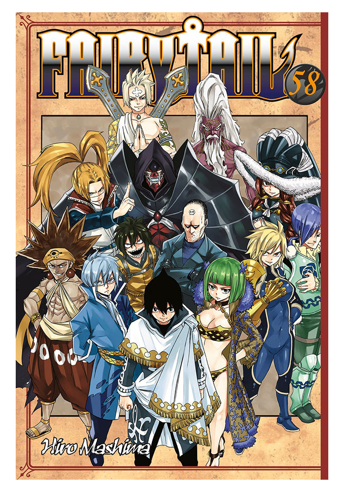 KODANSHA COMICS Fairy Tail 58 Manga