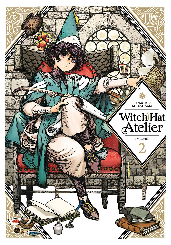 KODANSHA COMICS Witch Hat Atelier Vol. 2 Manga