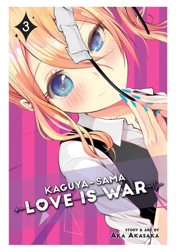 VIZ MEDIA Kaguya-sama: Love Is War Vol. 3 Manga