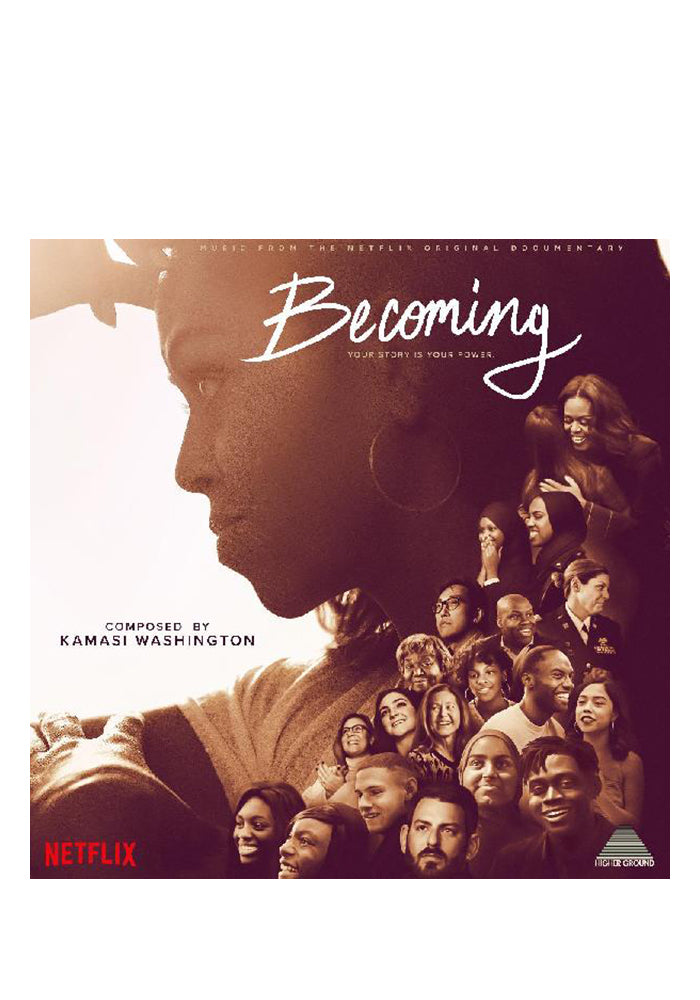 KAMASI WASHINGTON Soundtrack - Becoming LP (Color)