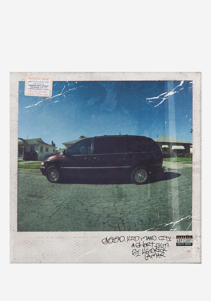 KENDRICK LAMAR Good Kid, M.A.A.D City 2 LP