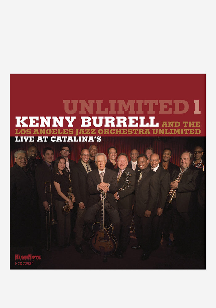 KENNY BURRELL Unlimited 1 With Autographed CD Booklet