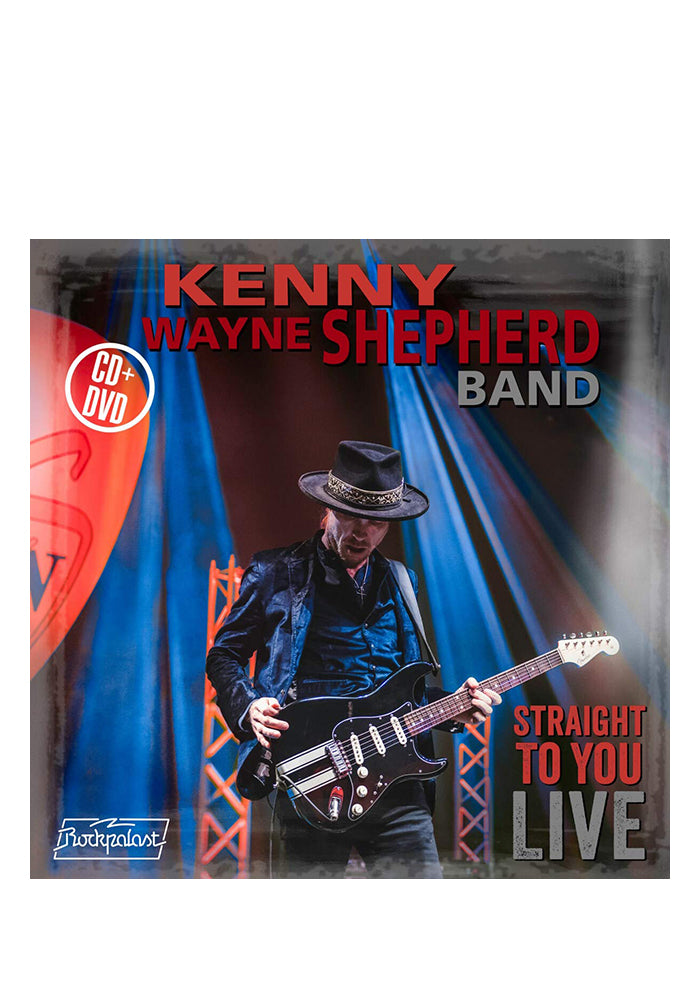 KENNY WAYNE SHEPHERD BAND Straight To You: Live CD/DVD With Autographed Postcard