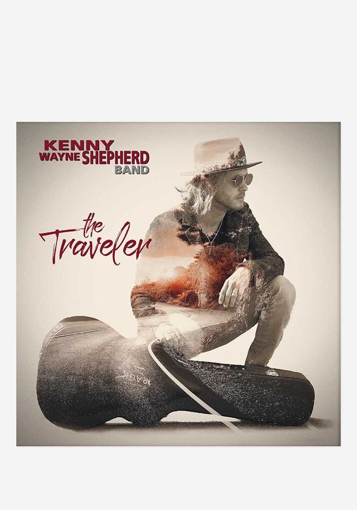 KENNY WAYNE SHEPHERD BAND The Traveler CD With Autographed Booklet