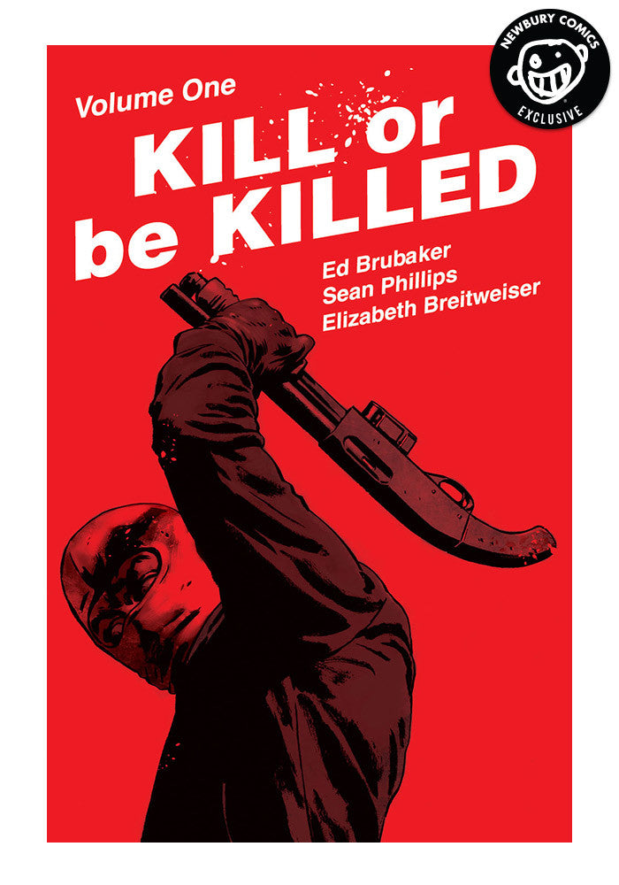 IMAGE COMICS Kill Or Be Killed Vol 1 Exclusive Variant Graphic Novel