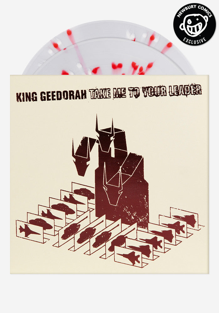 KING GEEDORAH Take Me To Your Leader Exclusive 2 LP
