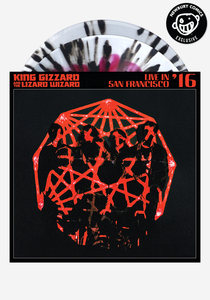 KING GIZZARD AND THE LIZARD WIZARD Live In San Francisco '16 Exclusive 2LP