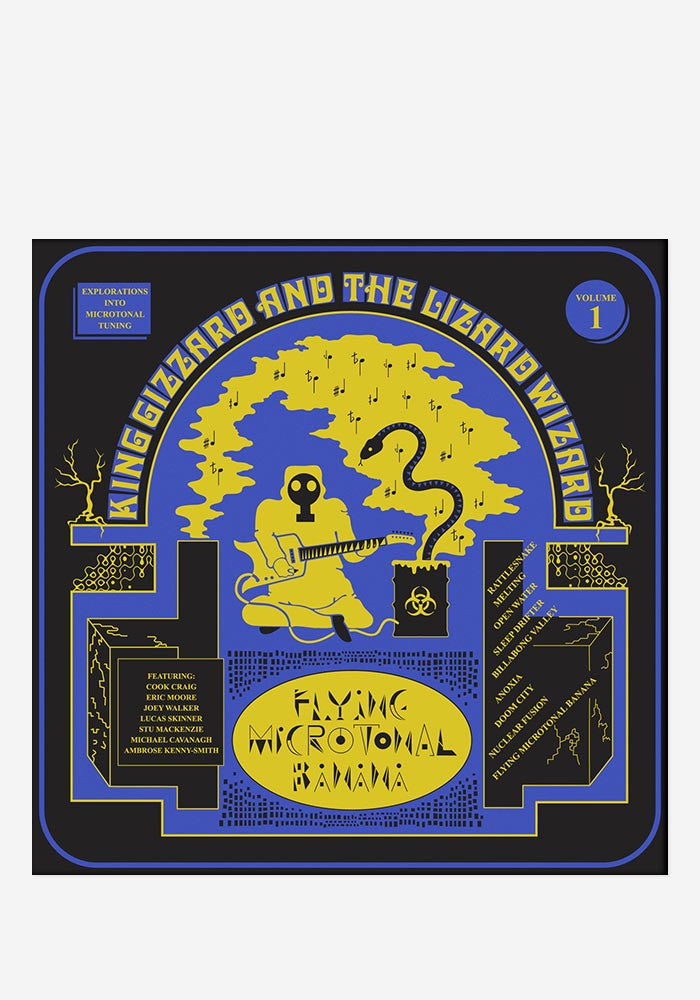 KING GIZZARD AND THE LIZARD WIZARD Flying Microtonal Banana LP (Color)