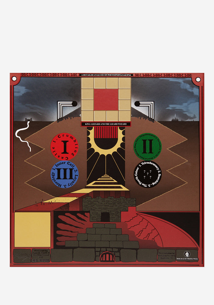 KING GIZZARD AND THE LIZARD WIZARD Polygondwanaland Exclusive 2LP