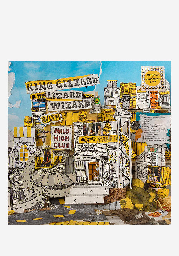KING GIZZARD & THE LIZARD WIZARD / MILD HIGH CLUB Sketches Of Brunswick East LP (Color)