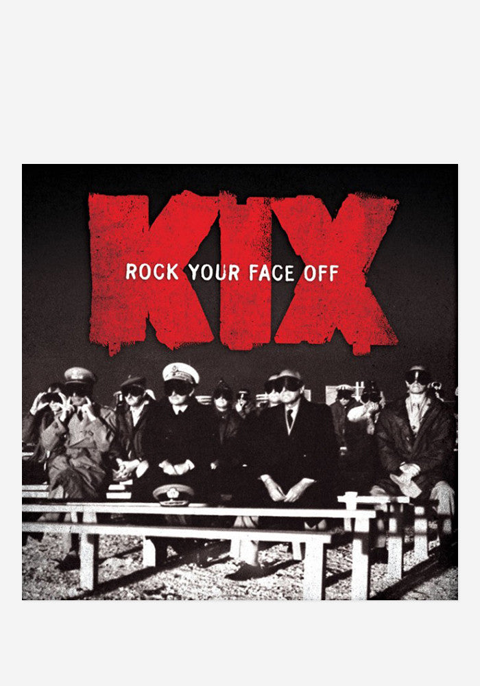 KIX Rock Your Face Off CD With Autographed Postcard