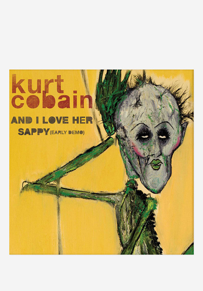 KURT COBAIN And I Love Her / Sappy 7""