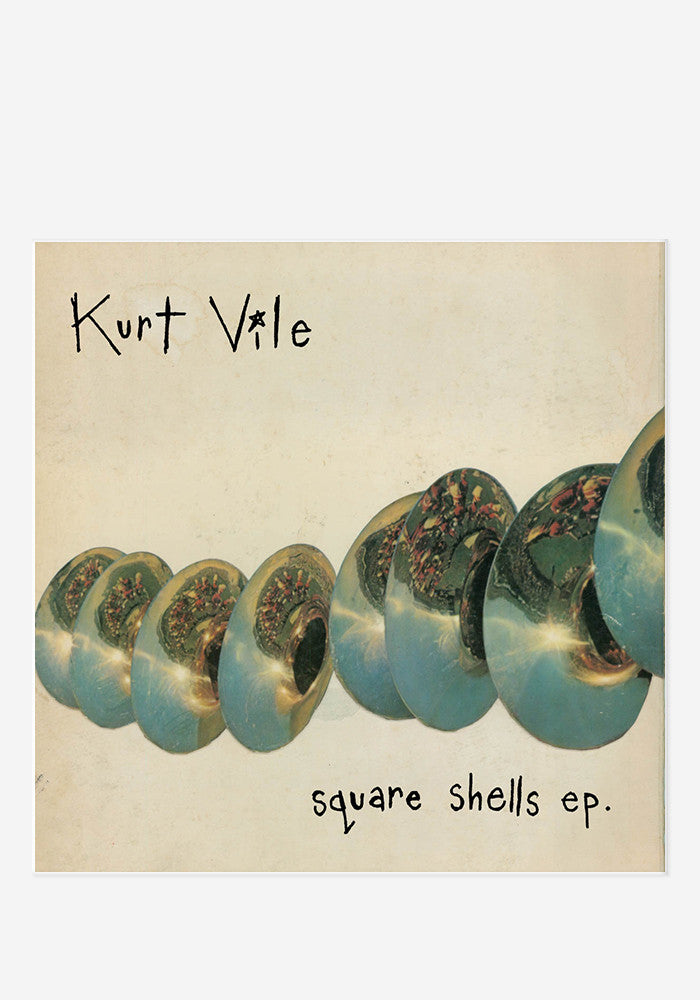 KURT VILE Square Shells EP (Color)