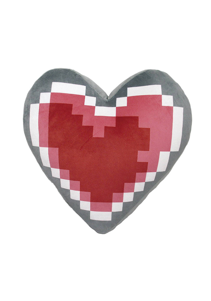 "LEGEND OF ZELDA 8-Bit Heart Container 13"" Plush Cushion"