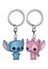 LILO & STITCH Funko Pocket Pop! Keychain: Disney - Stitch & Angel 2-Pack