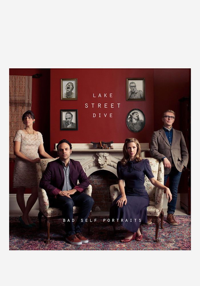 LAKE STREET DIVE Bad Self Portraits CD With Autographed Booklet