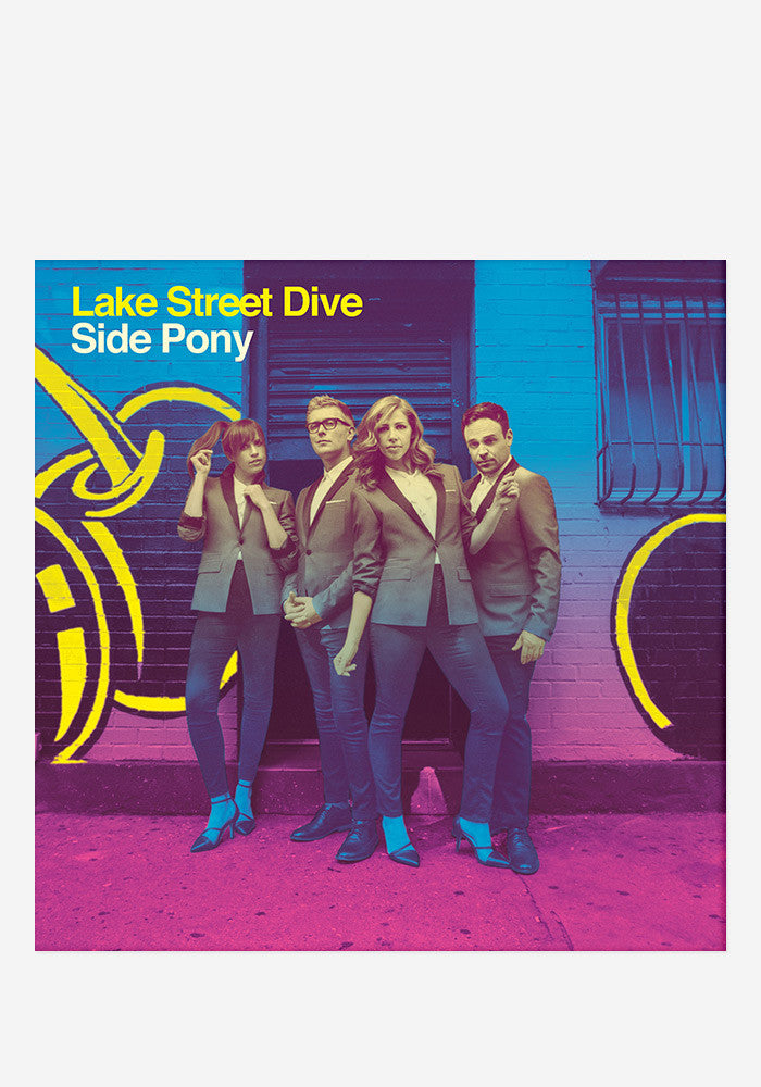 LAKE STREET DIVE Side Pony With Autographed Booklet