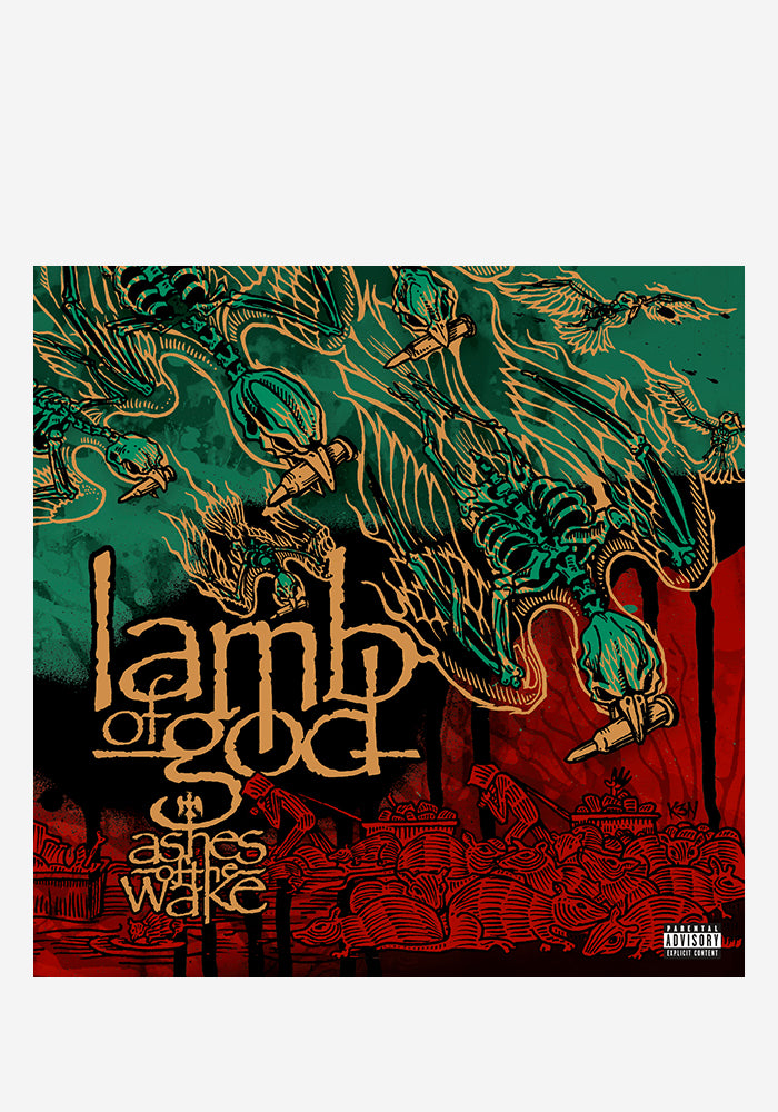LAMB OF GOD Ashes Of The Wake 15th Anniversary 2LP