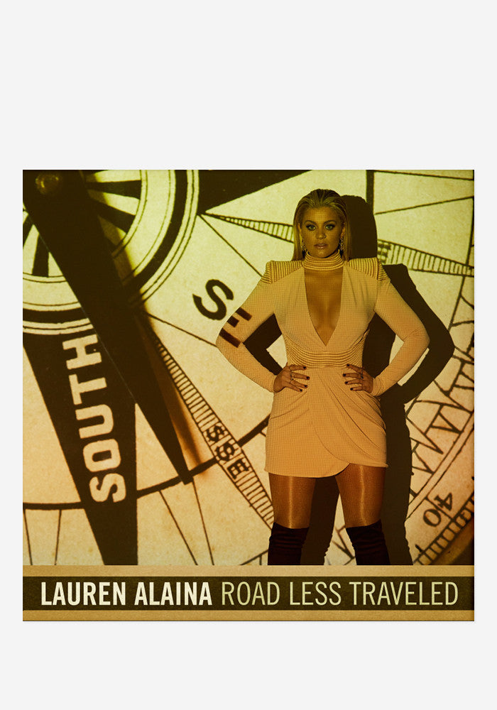 LAUREN ALAINA Road Less Traveled With Autographed CD Booklet