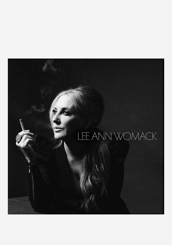 LEE ANN WOMACK The Lonely, The Lonesome & The Gone With Autographed CD Booklet