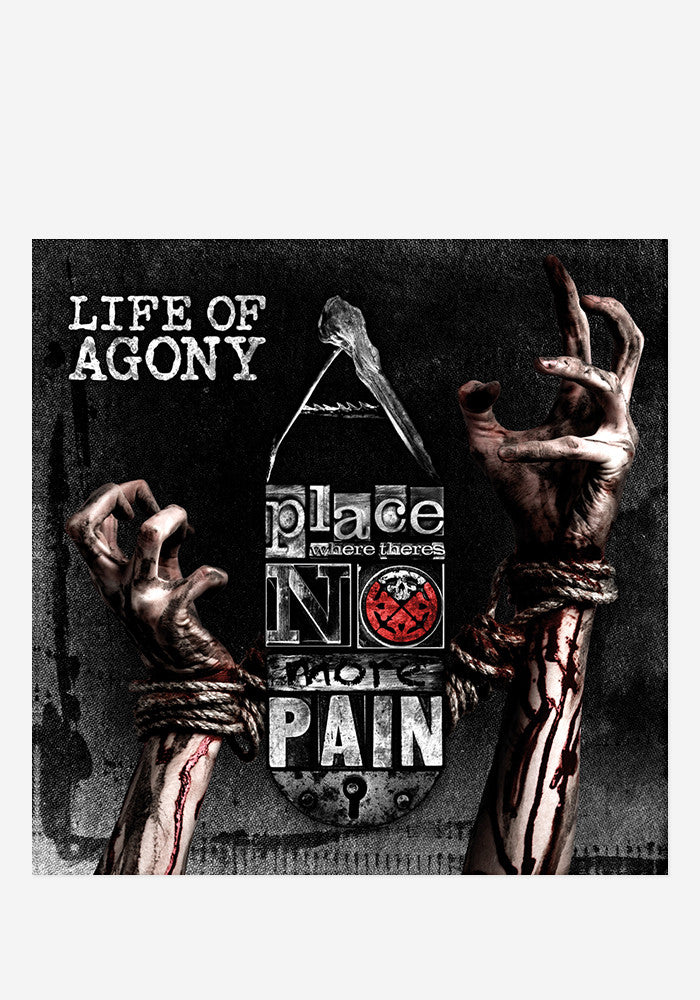 LIFE OF AGONY A Place Where There's No More Pain With Autographed CD Booklet