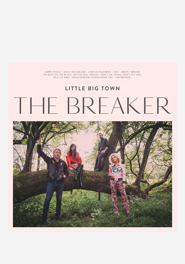 LITTLE BIG TOWN The Breaker CD (Autographed)