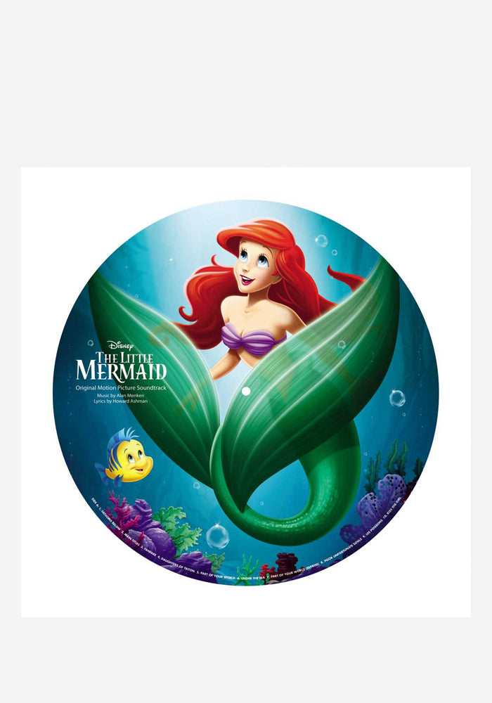 VARIOUS ARTISTS Soundtrack - The Little Mermaid LP (Picture Disc)
