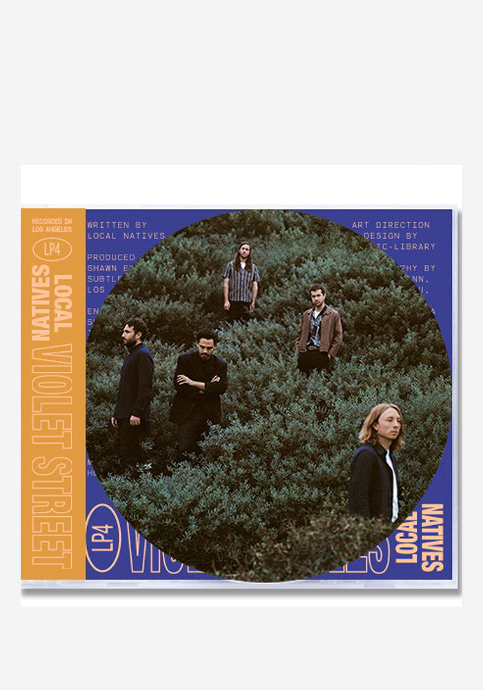 LOCAL NATIVES Violet Street CD With Autographed OBI Strip