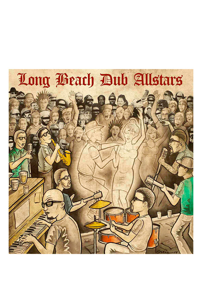 LONG BEACH DUB ALLSTARS Long Beach Dub Allstars CD (Autographed Poster)