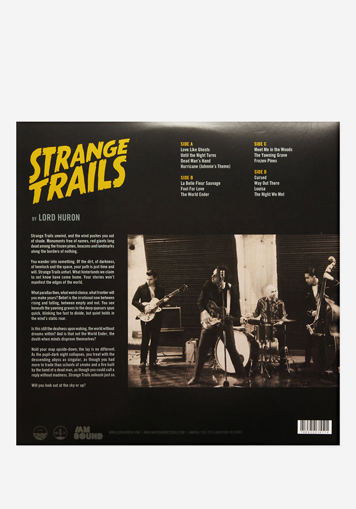 LORD HURON Strange Trails Exclusive 2LP