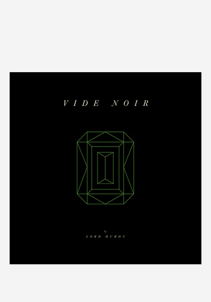 LORD HURON Vide Noir CD With Autographed Postcard