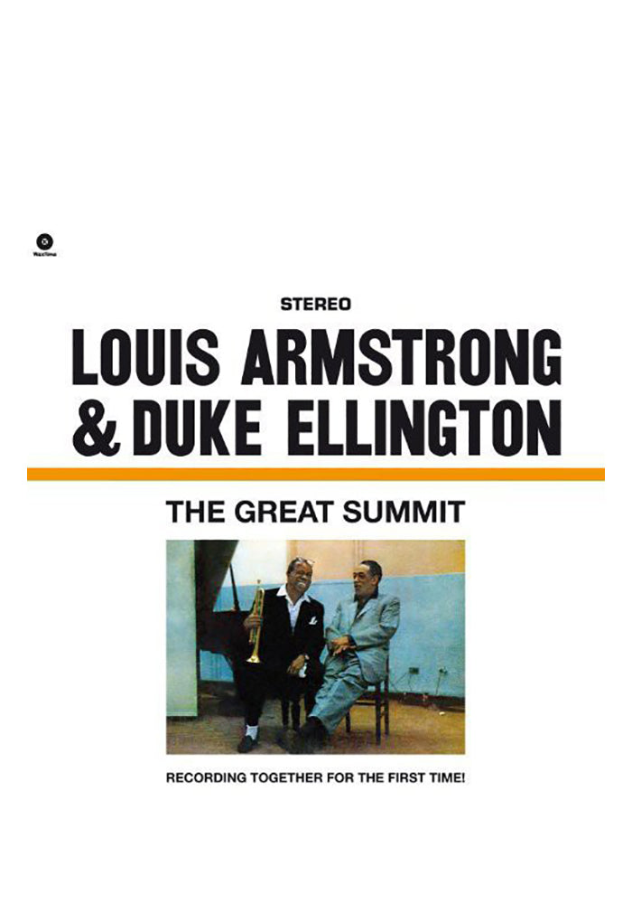 LOUIS ARMSTRONG & DUKE ELLINGTON The Great Summit LP