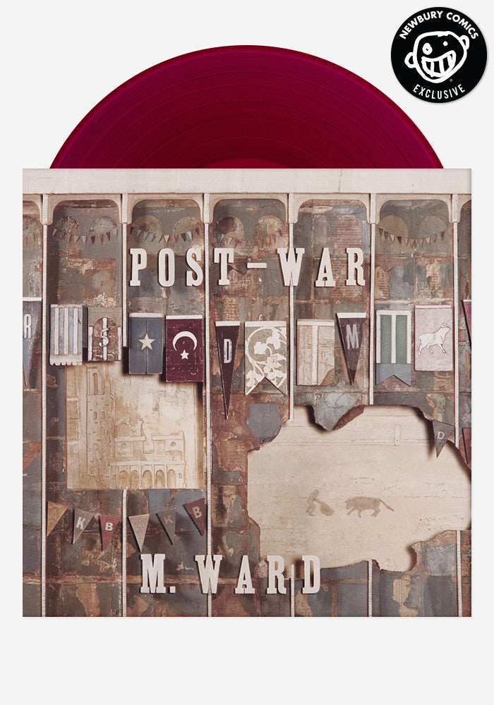 M. WARD Post-War Exclusive LP