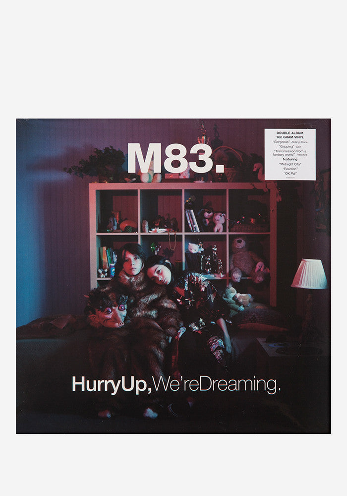 M83 Hurry Up,We're Dreaming 2 LP