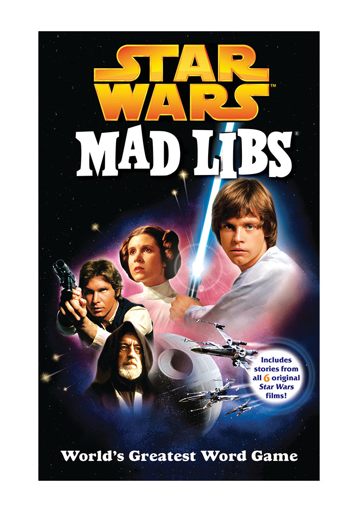 MAD LIBS Star Wars Mad Libs