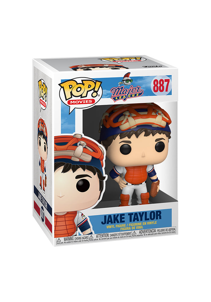 MAJOR LEAGUE Funko Pop! Movies: Major League - Jake Taylor