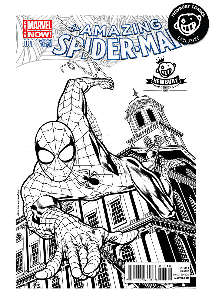 MARVEL COMICS Amazing Spider-Man #1 (B&W) - Kevin Nowlan Exclusive Cover