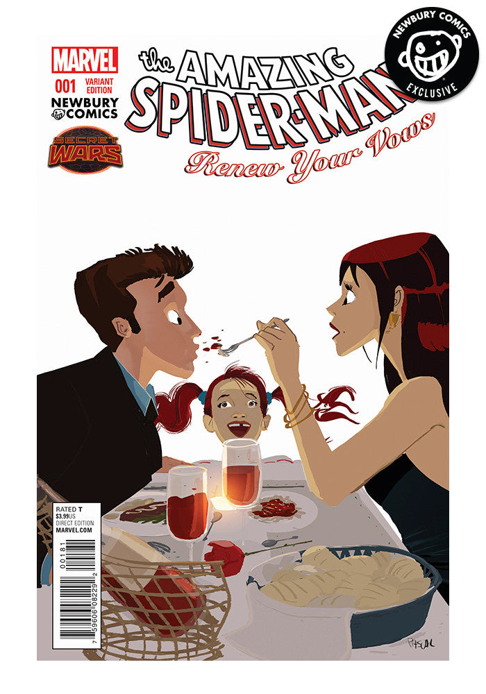 MARVEL COMICS Amazing Spider-Man Renew Your Vows #1 - Pascal Campion Exclusive Cover