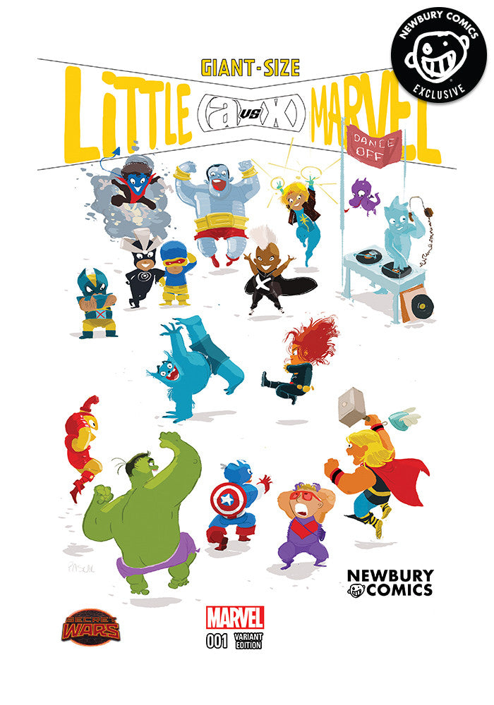 MARVEL COMICS Giant Size Little Marvel Avx #1 - Pascal Campion Exclusive Cover