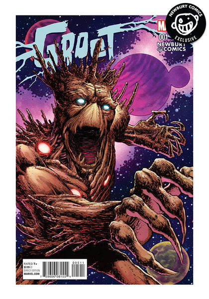 Marvel Comics Groot 1 Mike Perkins Exclusive Cover