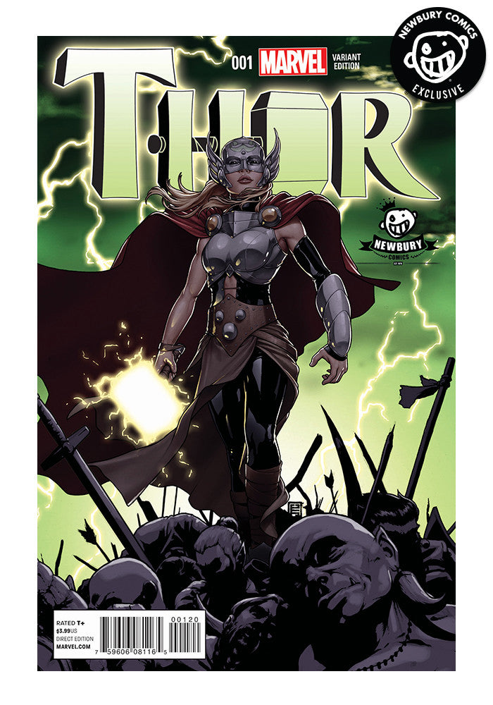 MARVEL COMICS Thor #1 - John Tyler Christopher Exclusive Cover