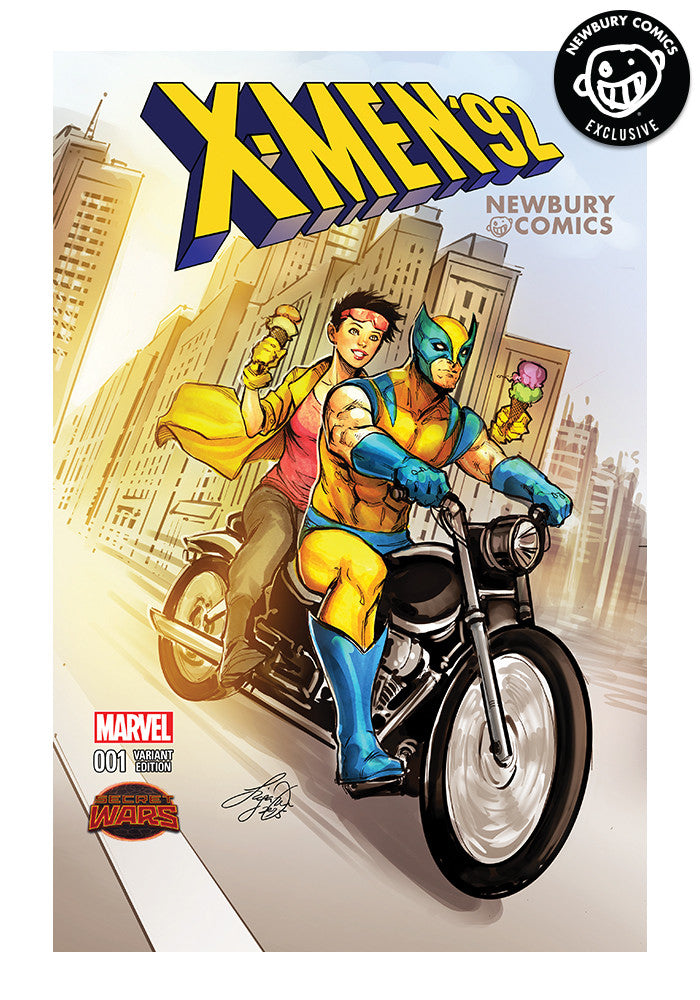MARVEL COMICS X-Men 92 #1 - Siya Oum Exclusive Cover