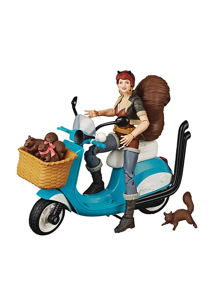 MARVEL Marvel Legends The Unbeatable Squirrel Girl 6-Inch Action Figure With Scooter