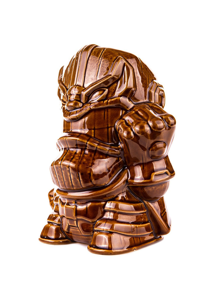 MARVEL Thanos 32oz Tiki Mug - Alamo Drafthouse Brown