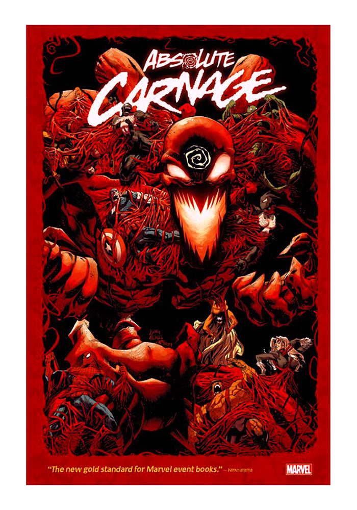 MARVEL COMICS Absolute Carnage Omnibus Graphic Novel