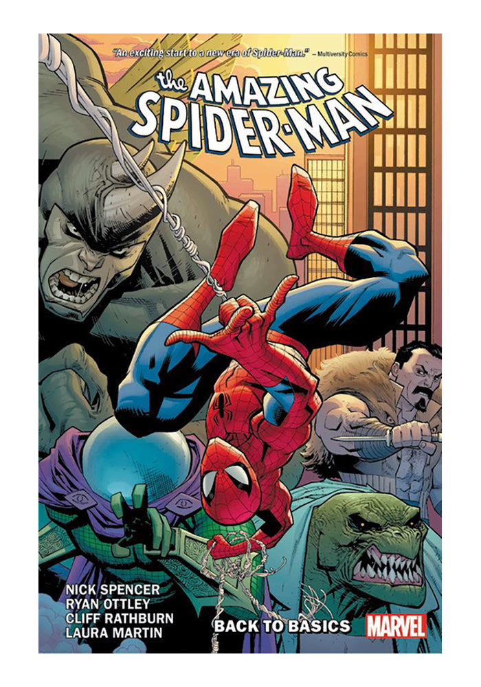 MARVEL COMICS Amazing Spider-Man by Nick Spencer Vol. 1: Back To Basics Graphic Novel