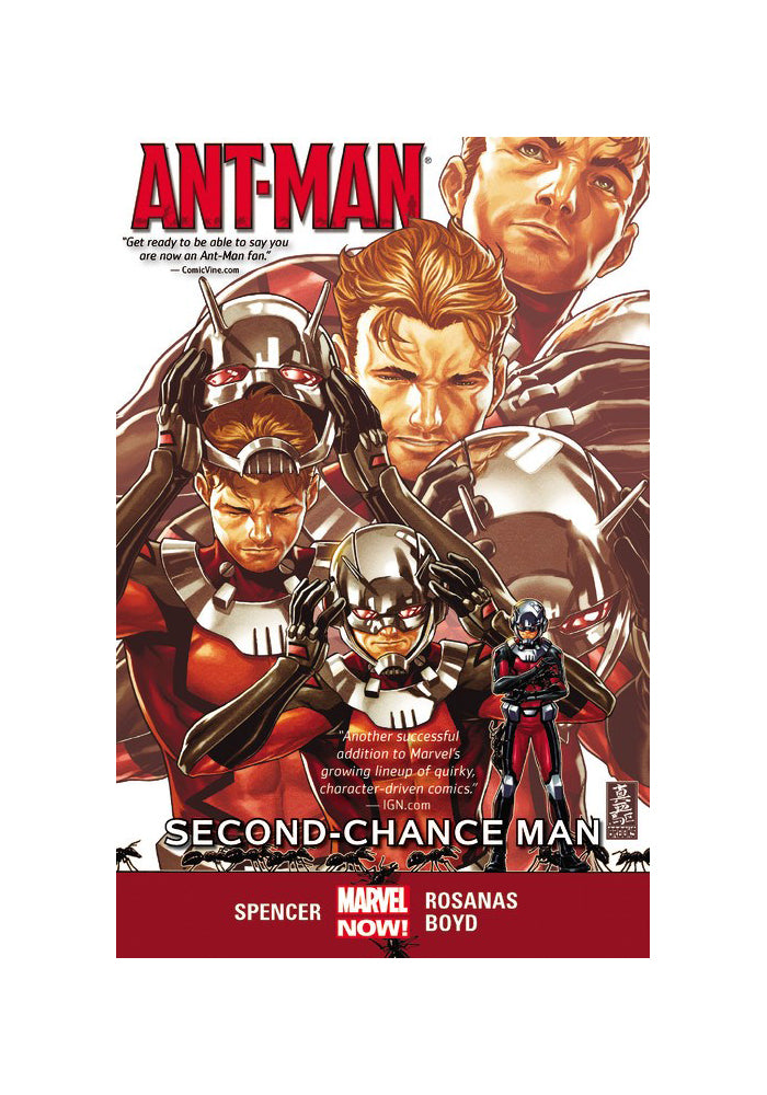 MARVEL COMICS Ant-Man Vol. 1: Second-Chance Man Graphic Novel