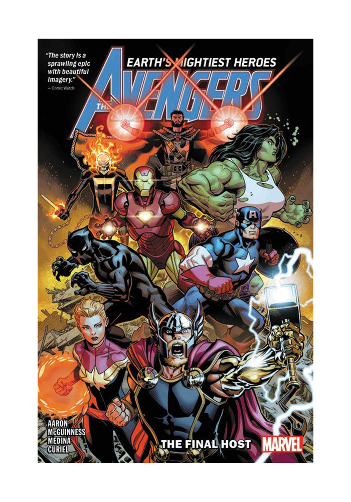 MARVEL COMICS Avengers by Jason Aaron Vol. 1: The Final Host Graphic Novel