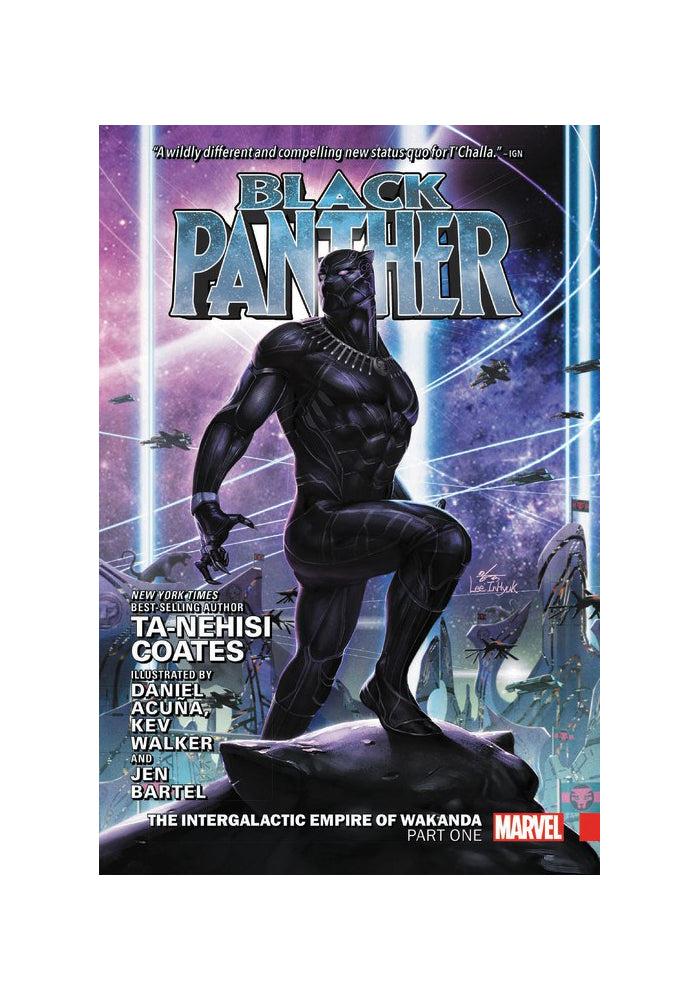 MARVEL COMICS Black Panther Vol. 3: The Intergalactic Empire of Wakanda Part 1 Hardcover Graphic Novel